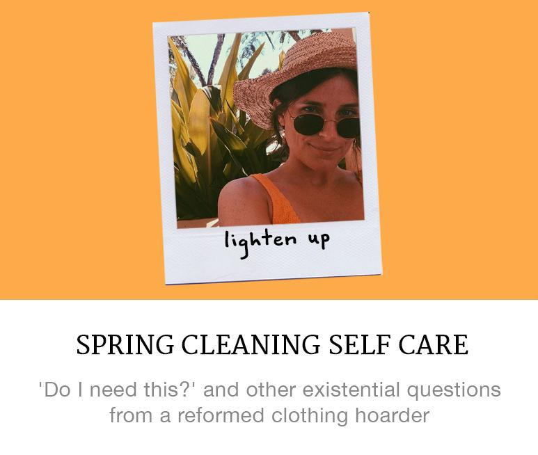spring cleaning self care