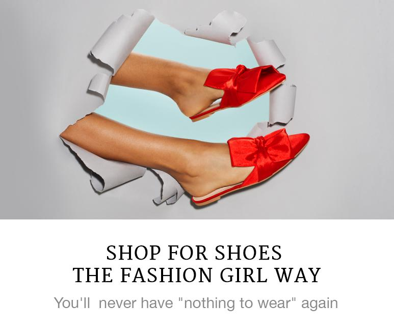 shop for shoes like a fashion girl