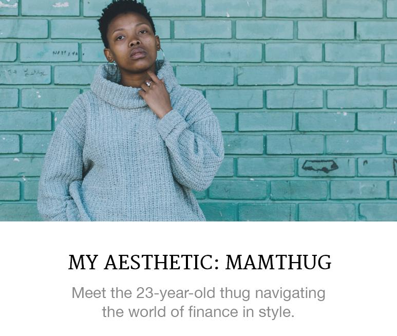 Meet a 23-year-old thug navigating the world of finance in style