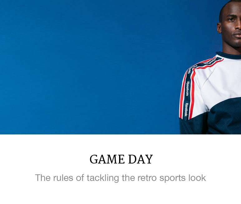 The retro sports look
