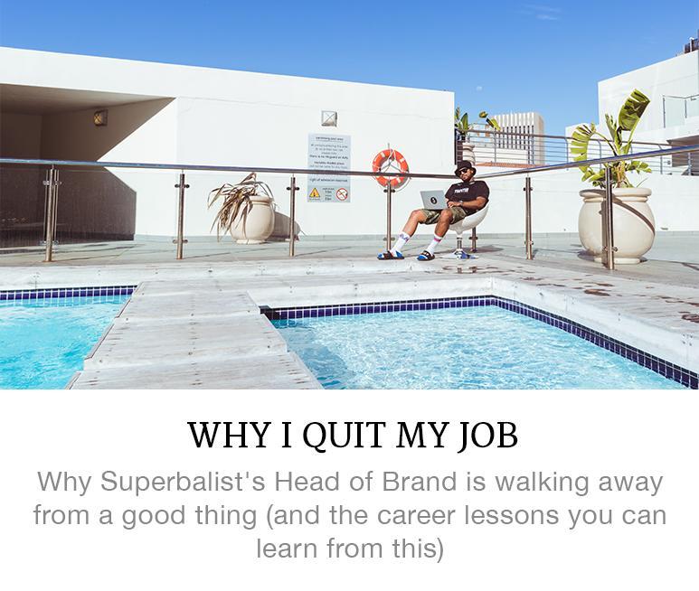 why I quit