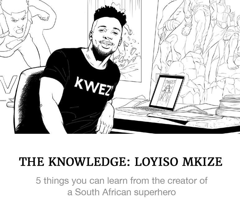 Loyiso Mkize Kwezi Comics