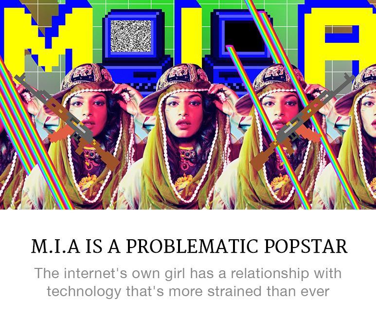 MIA problematic popstar