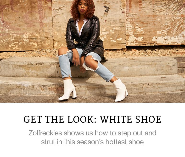 Get the Look: White Shoes