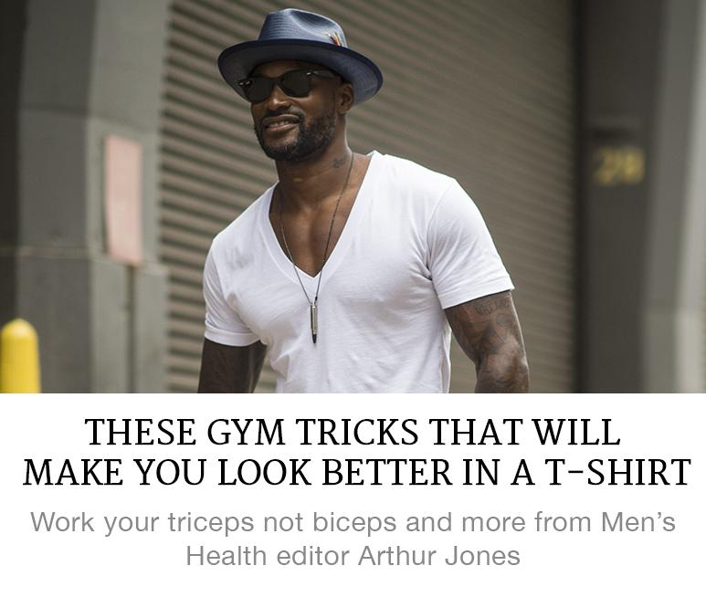 T-shirt muscle