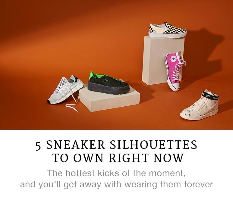 5 Sneaker Silhouettes to Own Right Now