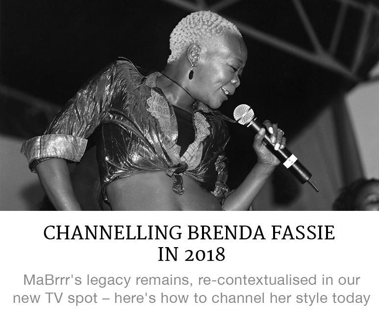 Channeling Brenda Fassie in 2018