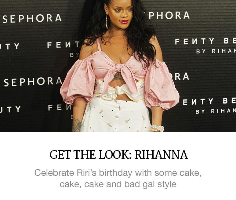 Get the Look: Rihanna