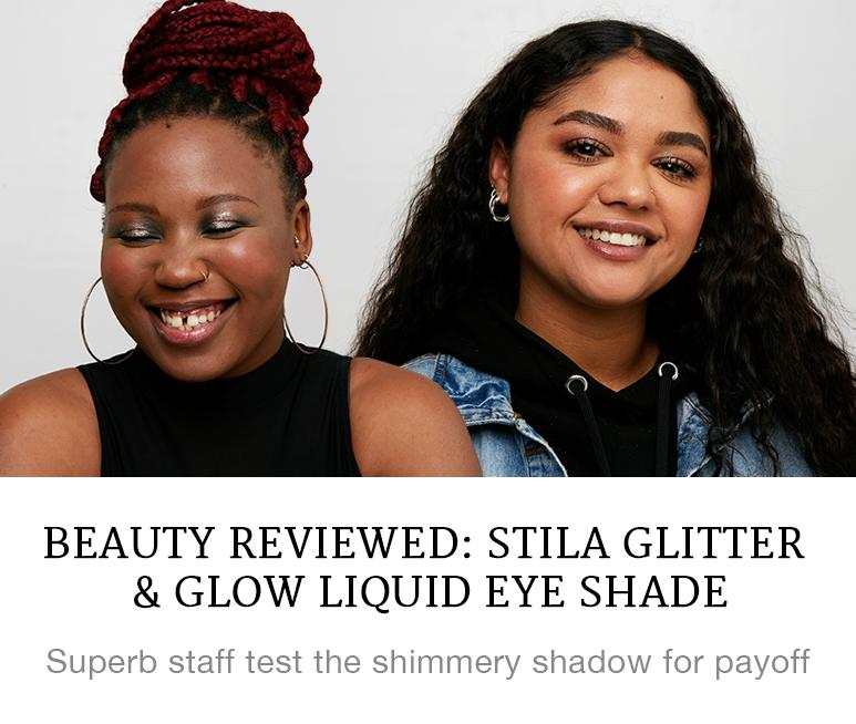 Beauty Reviewed: Stila Glitter and Glow  Liquid Eyeshade