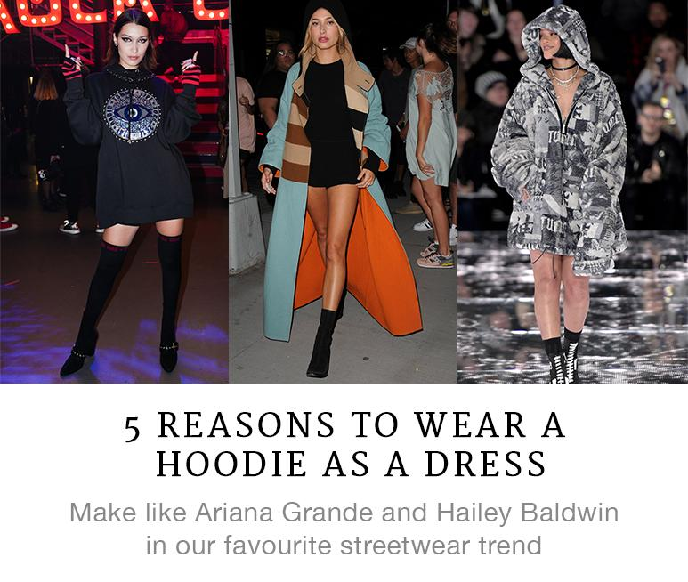 5 Reasons to Wear a Hoodie As a Dress