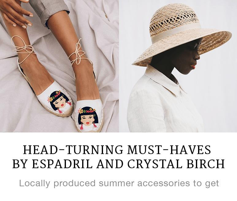 Head-turning Must-haves by Espadril and Crystal Birch