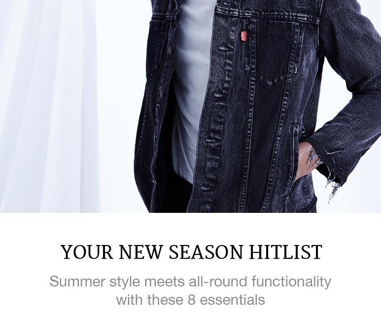 Menswear seasonal essentials