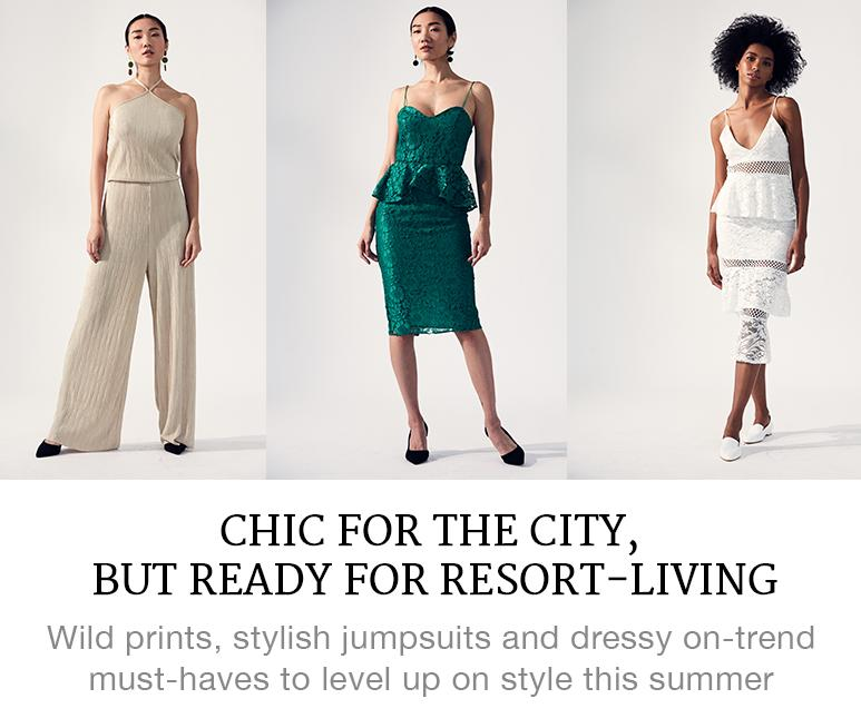 Chic for the City, But Ready for Resort-Living