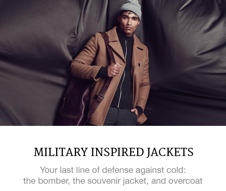 military menswear