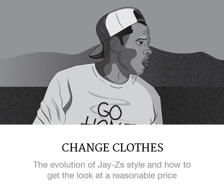 Jay Z's style evolution