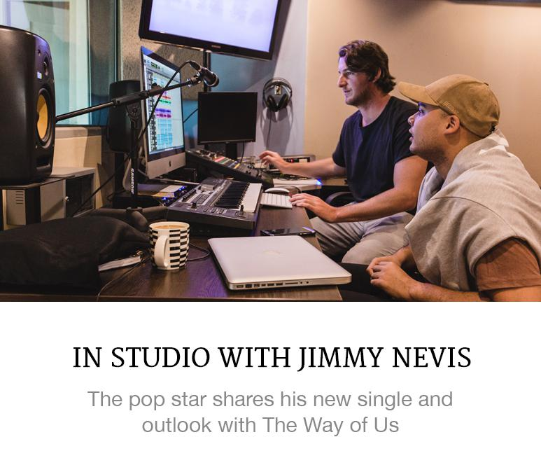 In Studio with Jimmy Nevis