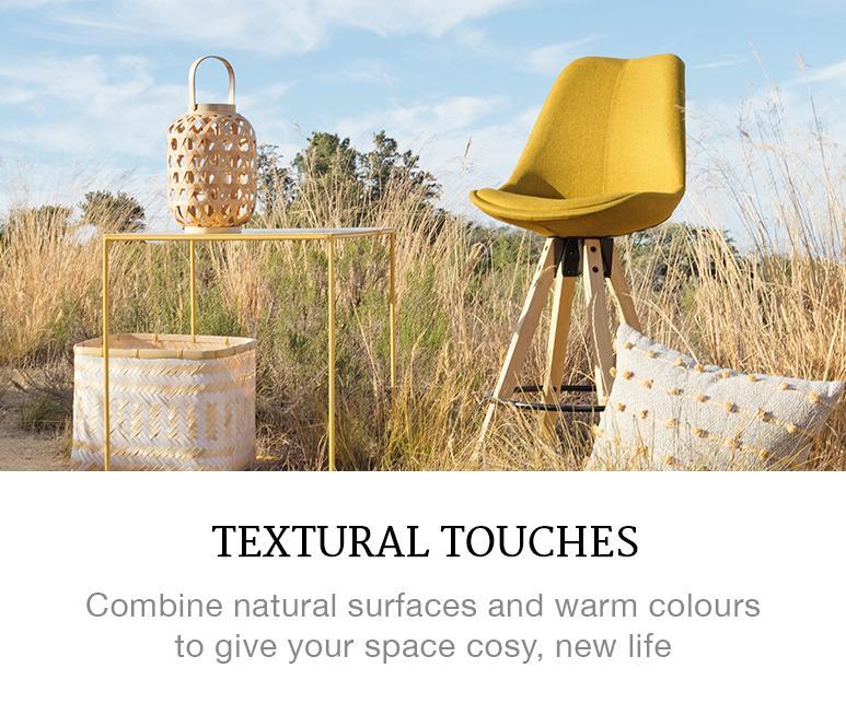 textural touches