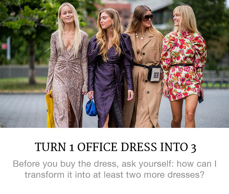 How to Make Your Work Dress Work Harder