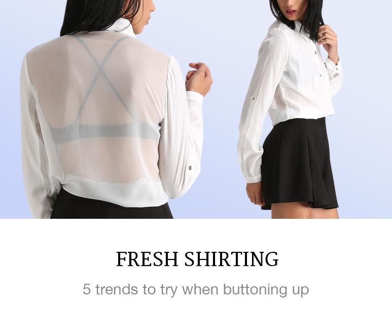 Fresh Shirting Trends