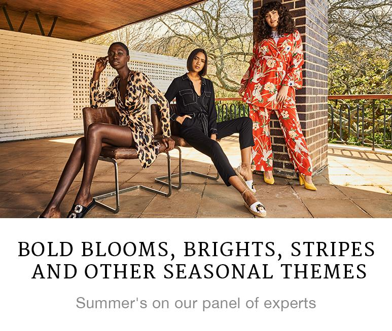 Bold Blooms, Brights, Stripes and other Seasonal Themes