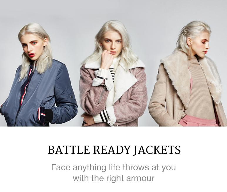 Battle ready jackets