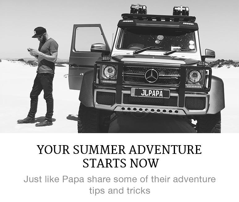 summer adventure starts here