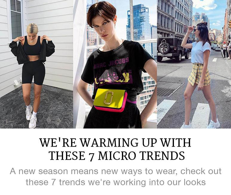 7 summer micro trends