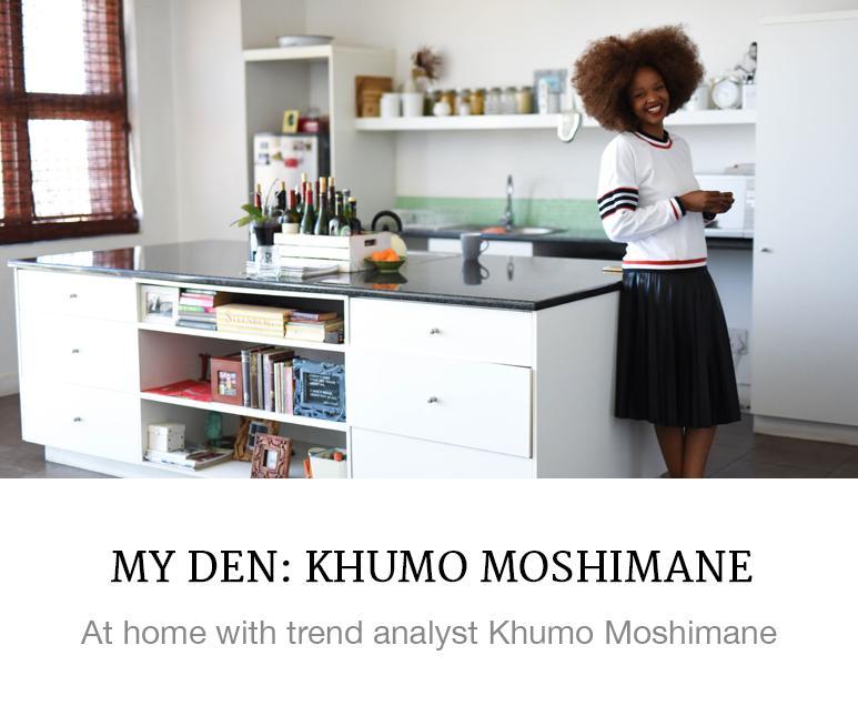 My Den: Khumo Moshimane