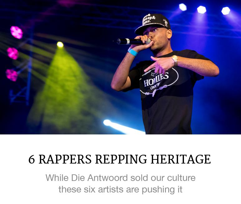 rappers repping heritage