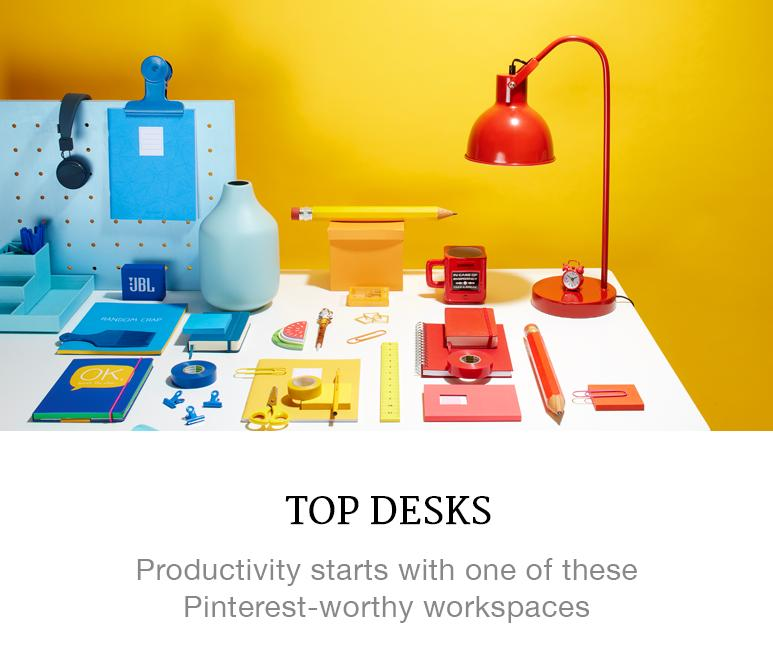 Pinterest worthy desks