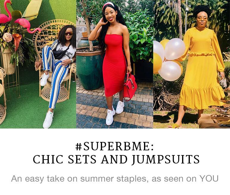 #SUPERBME: Co-ord sets and jumpsuits make summer style