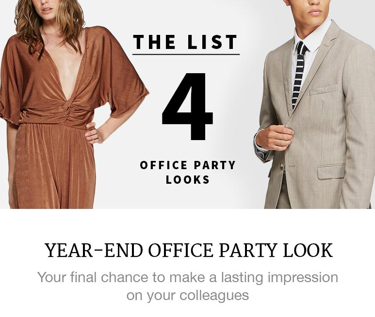Year-end Office Party Looks