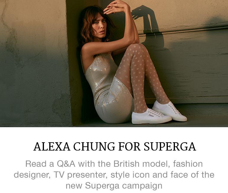 Alexa Chung for Superga