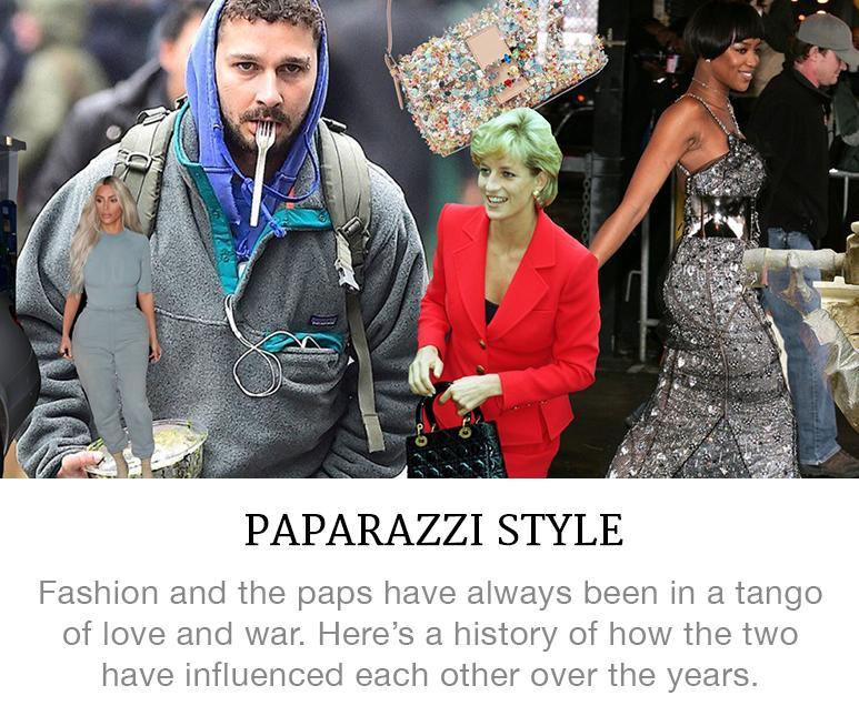 history of paparazzi