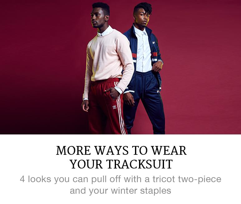 Tricot tracksuit trend