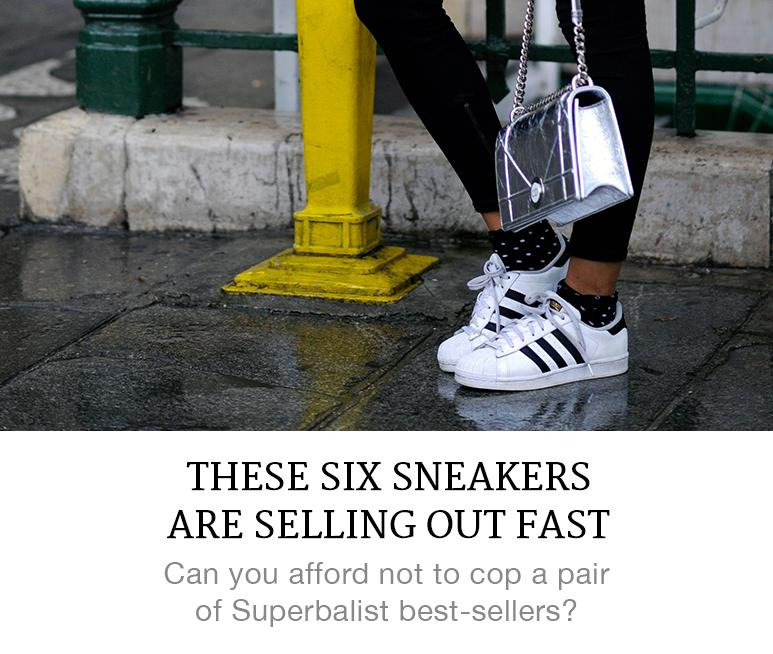 six best-seller womens sneakers