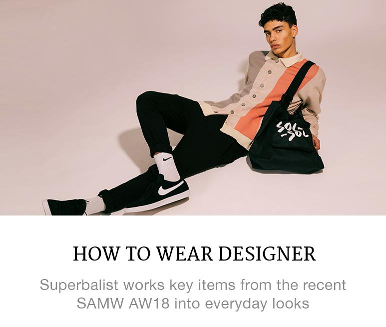 how to wear designer