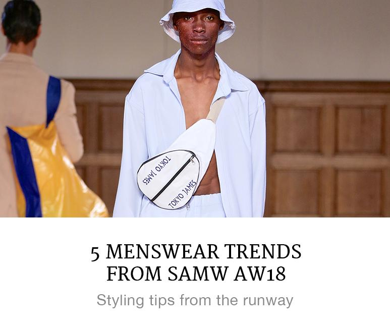 Take on These 5 Menswear Trends