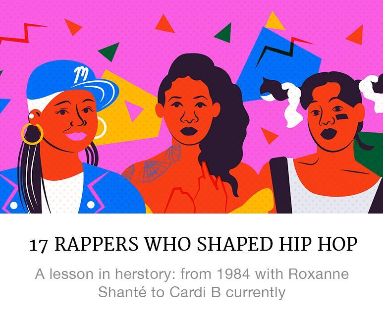 female rappers who shaped hip hop
