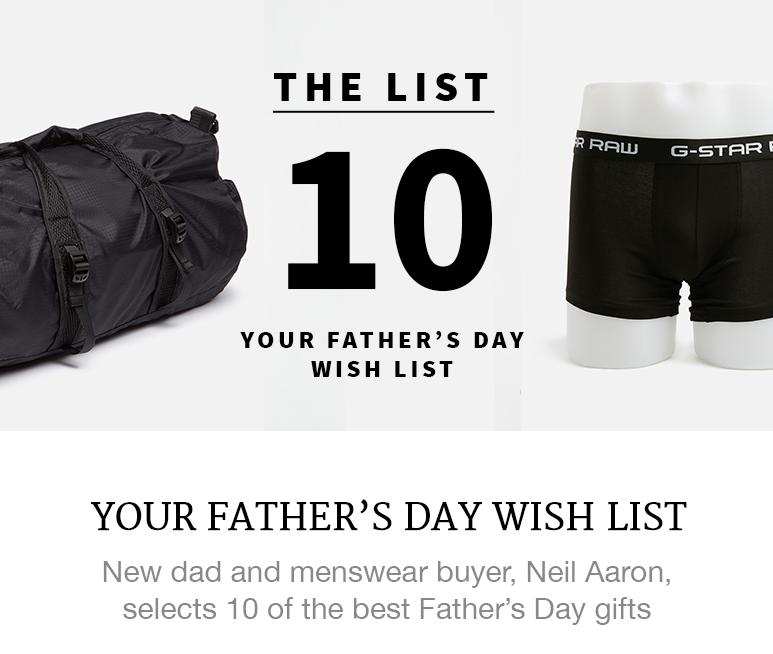 The Father's Day Gifts We Want