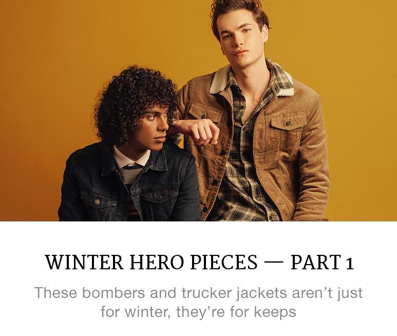 winter hero pieces