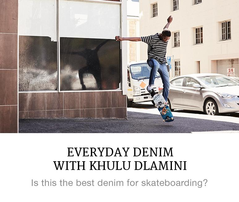 denim built for skateboarding