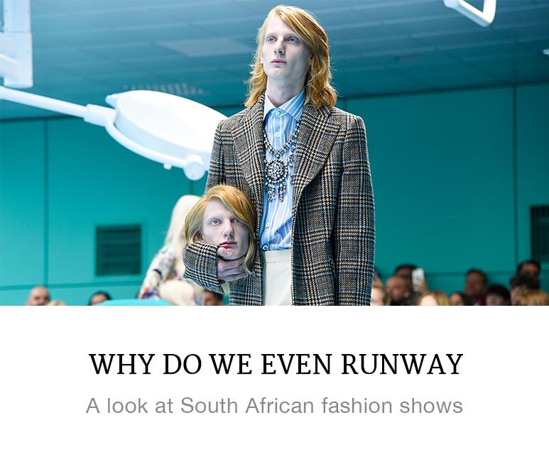 why do we even runway