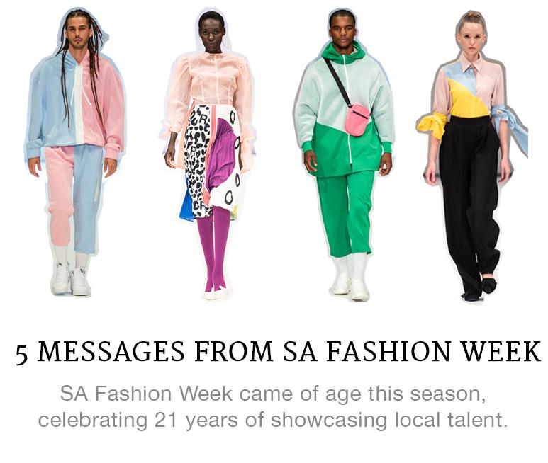 SAFW messages we heard loud and clear
