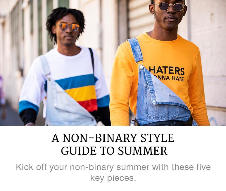 non binary style guide
