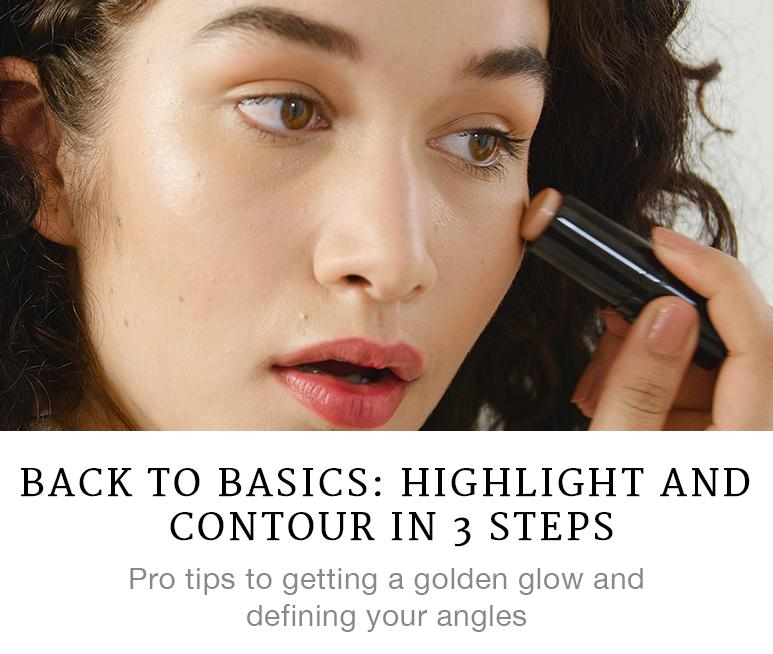 Back to Basics: Highlight and Contour in 3 Steps