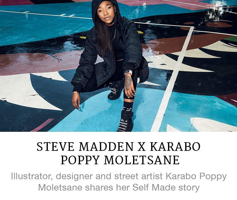 Steve Madden x Karabo Poppy Moletsane