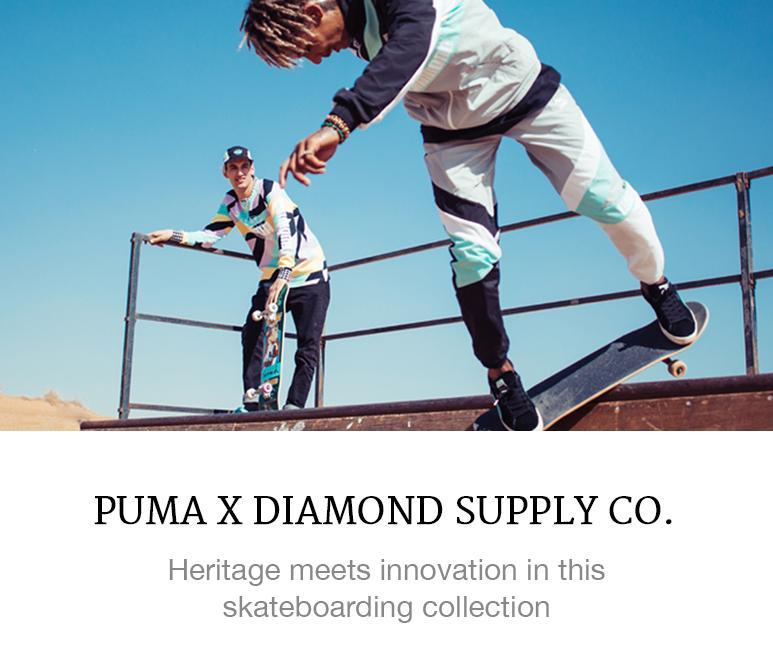 Puma diamond supply collaboration
