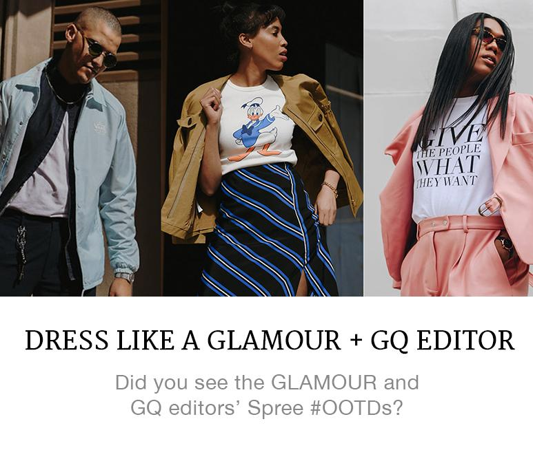 dress like a GQ or Glamour editor