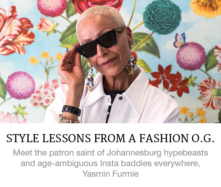Style Lessons From a Fashion OG